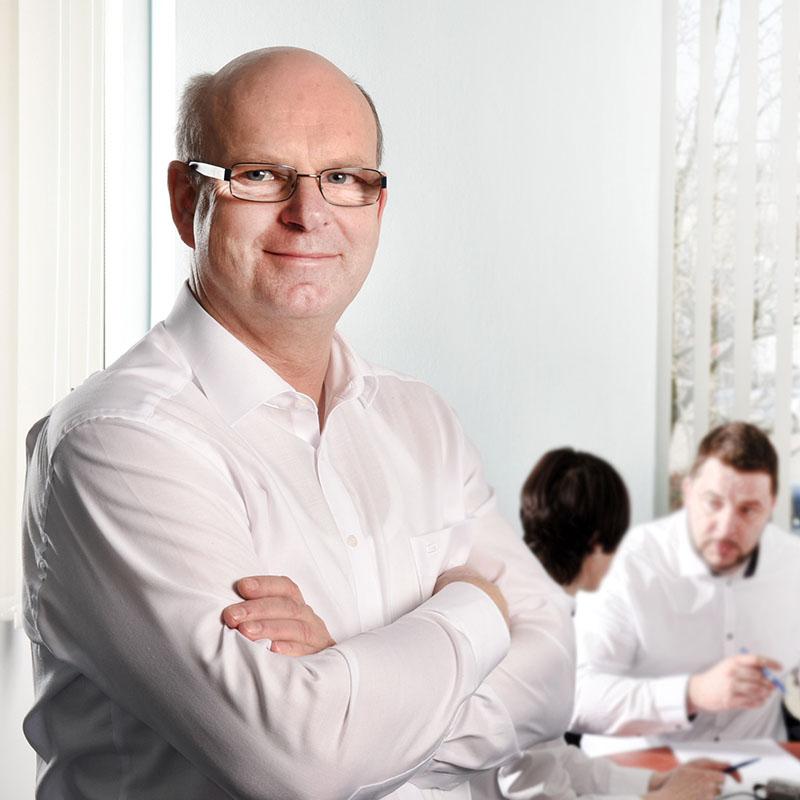 Dipl.-Ing. Hartmut Behncke: Geschäftsführer der Leitek