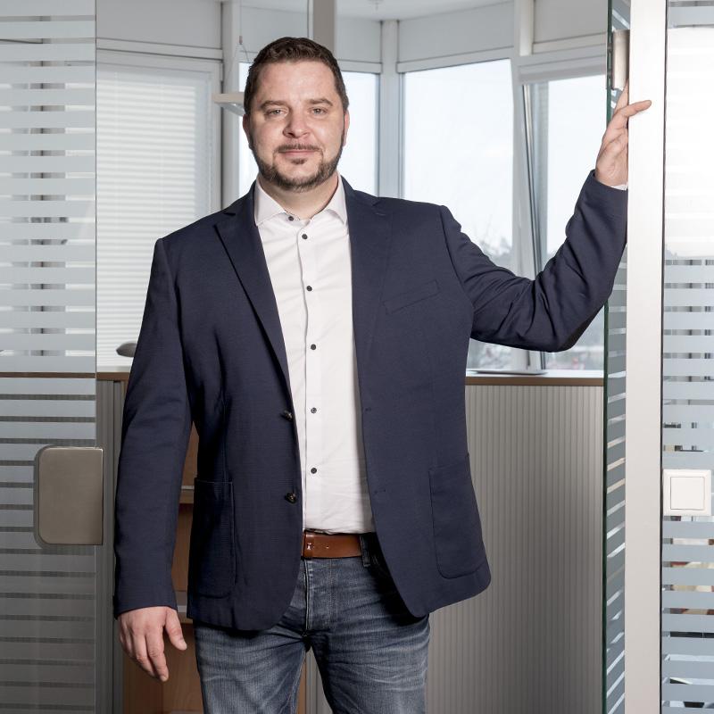 Ferry Hasenbank zuständig für QM und Projektlenkung