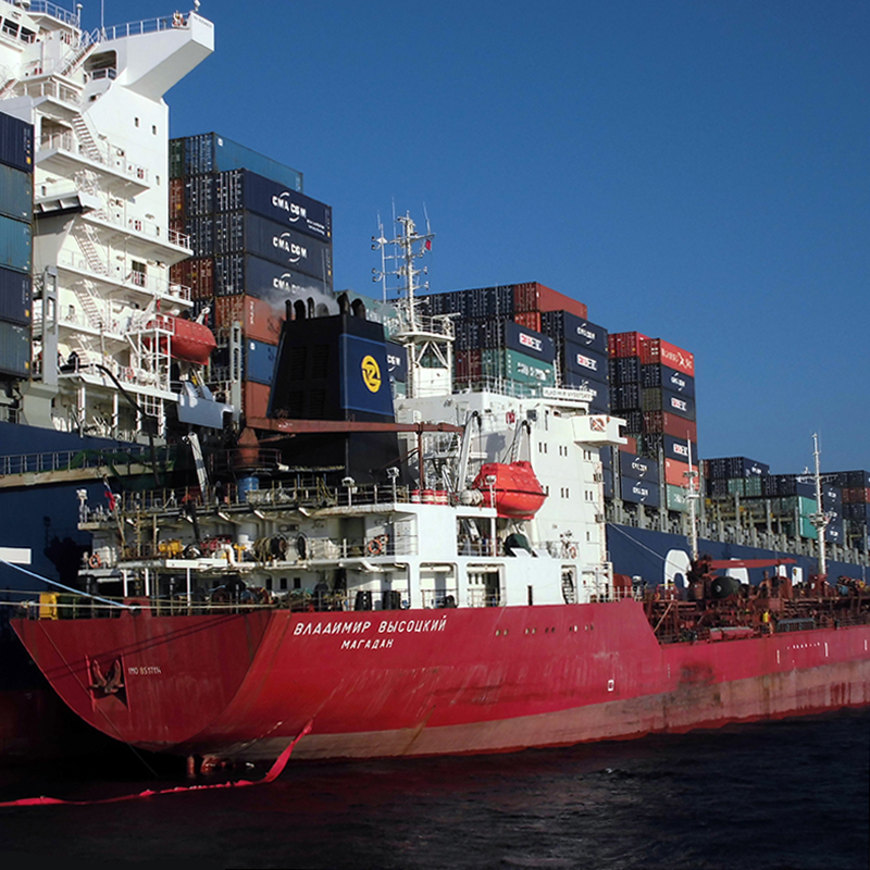 Monitoring des Bunkervorgangs auf Schiffen