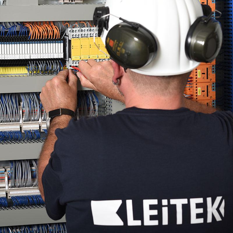 Leitek-Individuelle Schaltschranklösungen