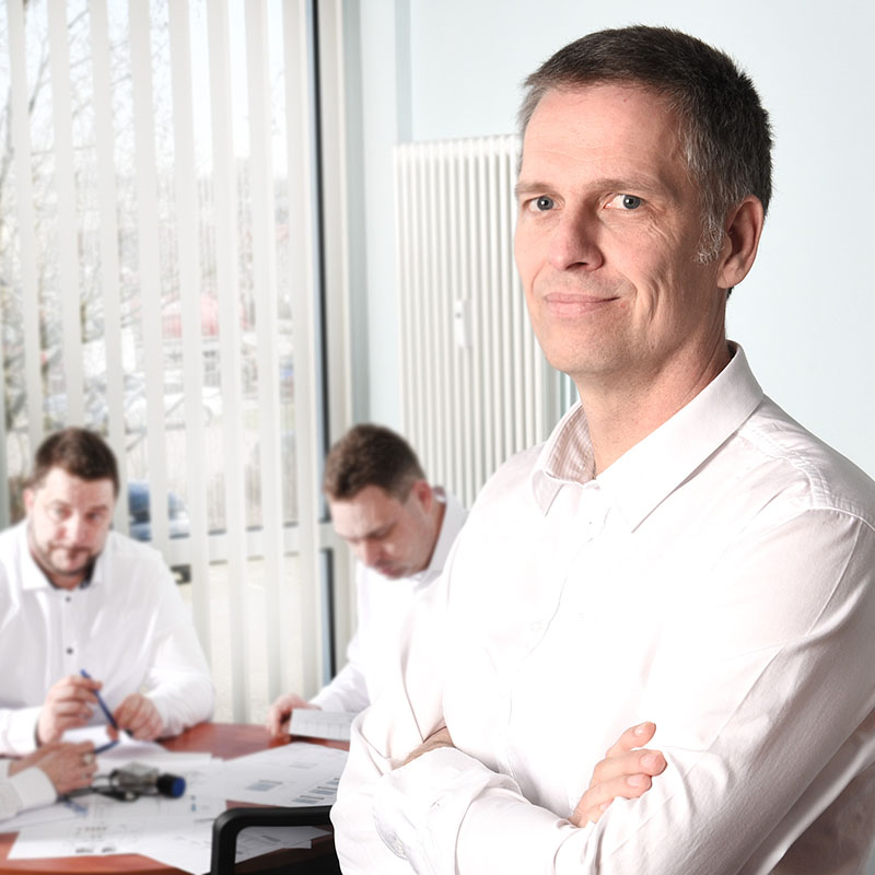 Dipl.-Ing. Jens Zinck - Geschäftsführer der Leitek